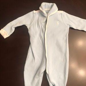 Ralph Lauren 9M footie pajamas